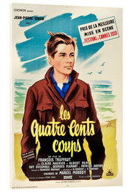 Acrylic print  The 400 Blows (French)