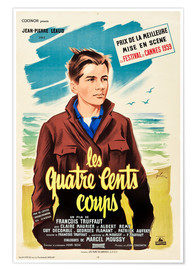 Premium poster The 400 Blows (French)