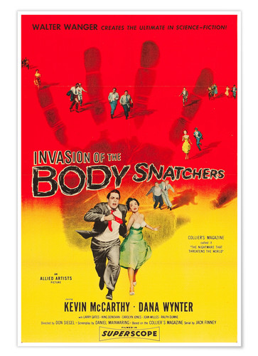 Premium poster INVASION of the Body Snatchers