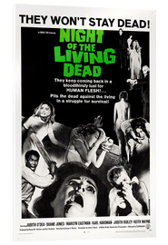 Acrylic glass  Night of the Living Dead