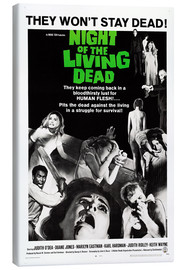Canvas print  Night of the Living Dead