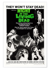Premium poster Night of the Living Dead