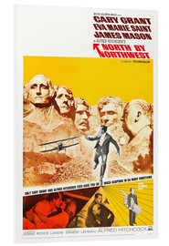 Foam board print  North by Northwest