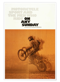 Premium poster ON ANY SUNDAY, 1971.