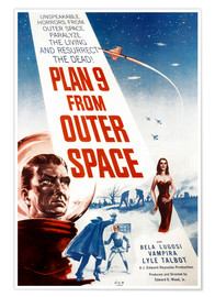 Premium poster Plan 9 from Outer Space