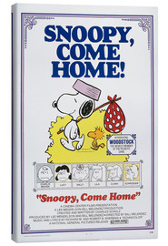 Canvas print  Snoopy, Come Home!
