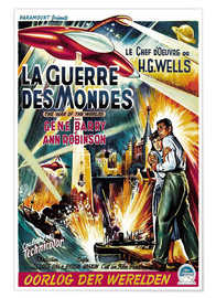 Premium poster THE WAR OF THE WORLDS 1953