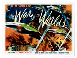 Premium poster The War of the Worlds