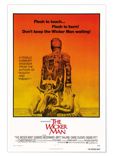 Premium poster THE WICKER MAN
