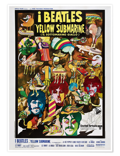 Premium poster The Beatles, Yellow Submarine