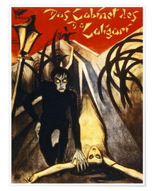 Premium poster  The Cabinet of Dr. Caligari