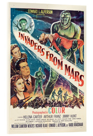 Acrylic print  Invaders from Mars