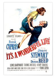 Premium poster It's a Wonderful Life