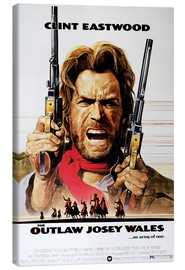 Canvas print  The Outlaw Josey Wales