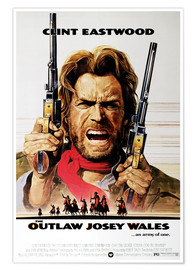 Premium poster  The Outlaw Josey Wales