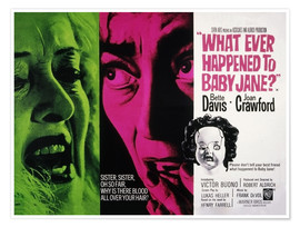 Premium poster What Ever Happened to Baby Jane?