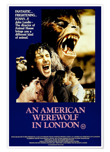 Premium poster AN AMERICAN WEREWOLF IN LONDON