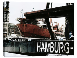 Canvas print  Hamburg docks - Nestwick
