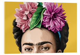 Acrylic glass  frida - Claudio Limón