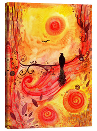 Canvas  Coming home - SaRidie-arts