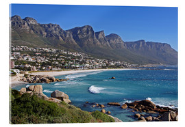 Acrylic print  Camps Bay, Cape Town, South Africa - wiw