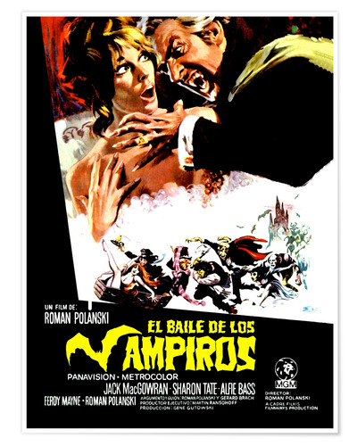 Premium poster Dance of the Vampires