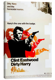 Canvas print  Dirty Harry
