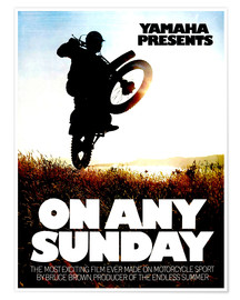 Premium poster On Any Sunday