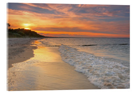 Acrylic print  At the baltic sea - Simone Splinter