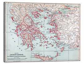Canvas  Map: Ancient Greece