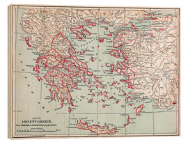 Wood  Map: of Ancient Greece