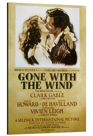 Aluminium print  Gone With The Wind - Margaret Mitchell