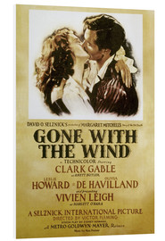 Foam board print  Gone With The Wind - Margaret Mitchell
