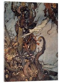 Acrylic print  Andersen: Little Mermaid - Edmund Dulac