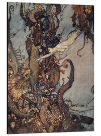 Alu-Dibond  Andersen: Little Mermaid - Edmund Dulac