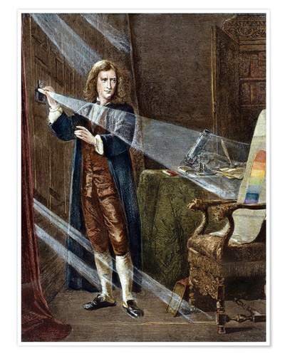 Sir Isaac Newton Posters And Prints Posterlounge Co Uk
