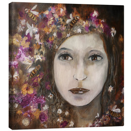 Canvas print  a girl - Christin Lamade