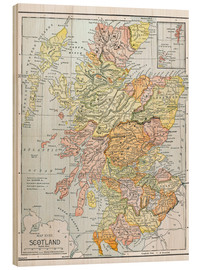 Wood  Map: Scotland