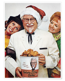 Premium poster Kentucky Fried Chicken