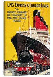 Canvas  Lms Express/cunard Poster.