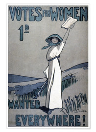 Premium poster Women's Rights