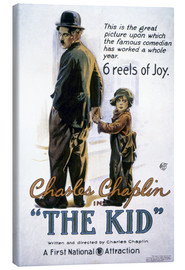 Canvas print  Chaplin: The Kid, 1920