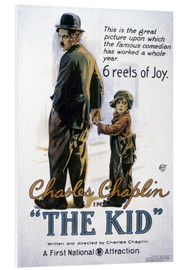 Foam board print  Chaplin: The Kid, 1920