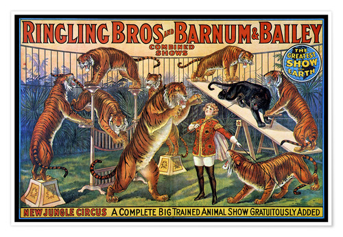 Premium poster Circus poster from 1920