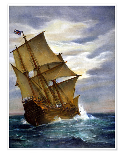 Premium poster The Mayflower