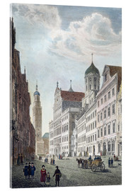 Acrylic print  Augsburg, 1822. - Robert Batty