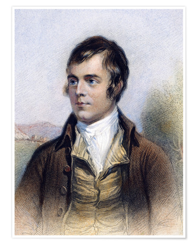 Premium poster Robert Burns