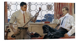 Aluminium print  Men's fashion 1914 - Joseph Christian Leyendecker