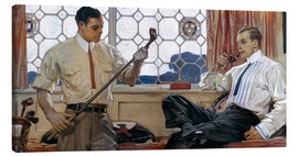Canvas print  Men's fashion 1914 - Joseph Christian Leyendecker