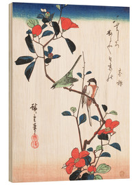 Wood print  Flowers and Birdsin - Utagawa Hiroshige